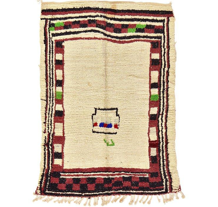 4' 2 x 5' 8 Moroccan Rug