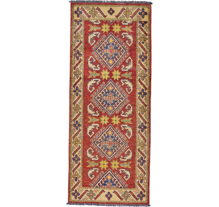 2' 4 x 5' 8 Kazak Oriental Runner Rug