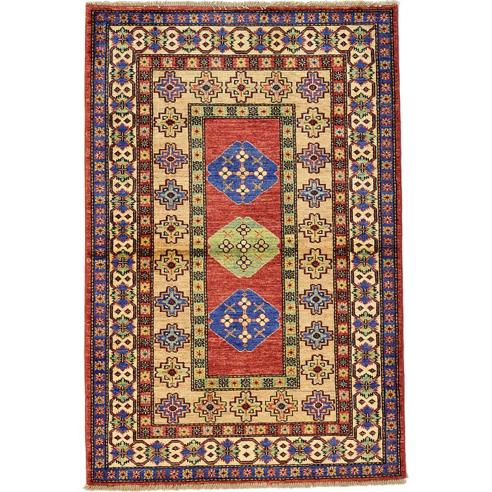 3' 3 x 4' 10 Kazak Oriental Rug