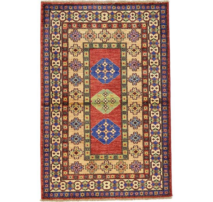 100cm x 147cm Kazak Oriental Rug