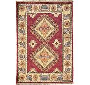 Link to 2' 3 x 3' 1 Kazak Oriental Rug