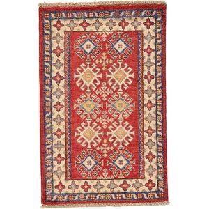 2' 1 x 3' 4 Kazak Oriental Rug