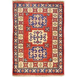 2' 3 x 3' 2 Kazak Oriental Rug