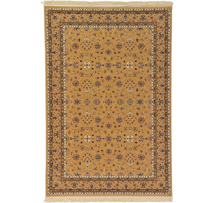 6' 7 x 9' 10 Kashan Design Rug
