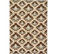 Link to 5' x 6' 10 Reproduction Gabbeh Rug