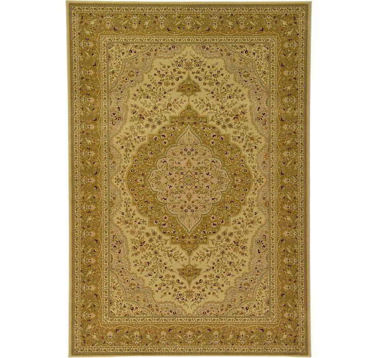 6' 6 x 9' 6 Tabriz Design Rug