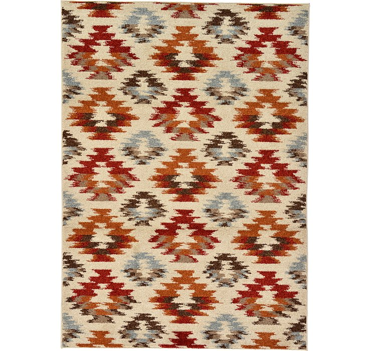 5' x 6' 10 Reproduction Gabbeh Rug
