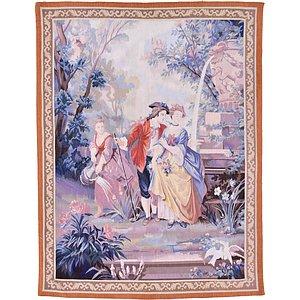 4' 2 x 5' 6 Tapestry Rug