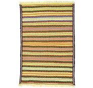 Link to 3' 3 x 4' 10 Kilim Fars Rug