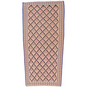3' 11 x 7' 9 Kilim Fars Rug