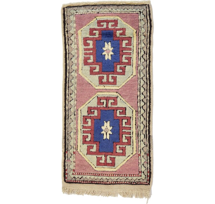 HandKnotted 1' 8 x 3' 5 Kars Rug