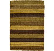 Link to 3' 5 x 4' 11 Kilim Afghan Rug