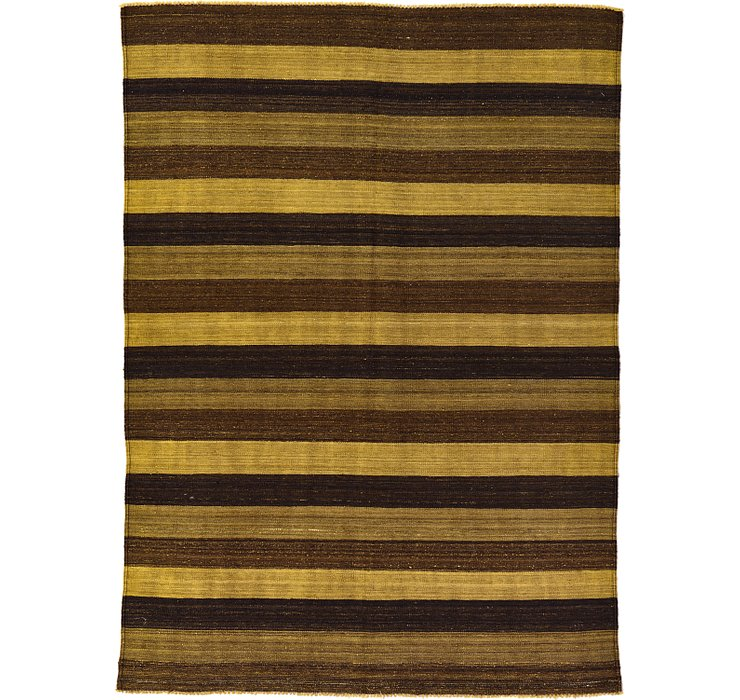 5' 2 x 7' Kilim Afghan Rug