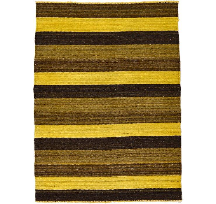3' 5 x 4' 8 Kilim Afghan Rug