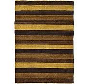 Link to 3' 4 x 4' 8 Kilim Afghan Rug