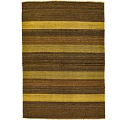 Link to 3' 5 x 4' 10 Kilim Afghan Rug