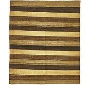 Link to 5' x 5' 10 Kilim Afghan Square Rug