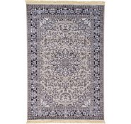 Link to Unique Loom 6' 7 x 9' 10 Tabriz Design Rug