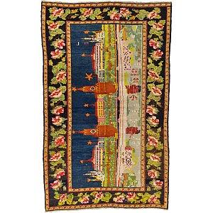 HandKnotted 4' 8 x 7' 9 Karabakh Oriental Rug
