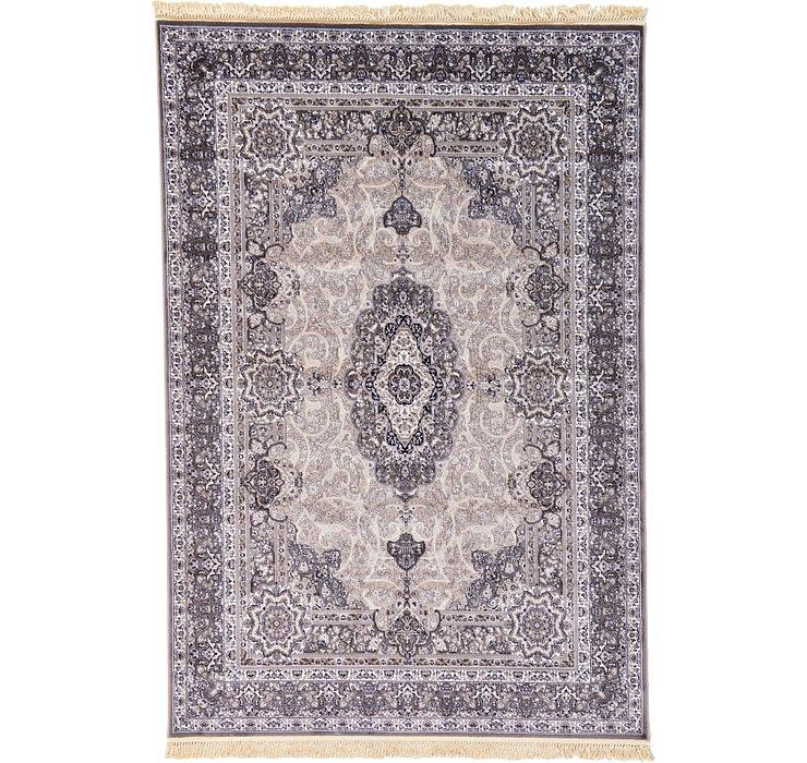 6' 7 x 9' 9 Tabriz Design Rug