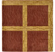 Link to Unique Loom 3' 3 x 3' 4 Reproduction Gabbeh Square Rug