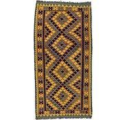 Link to Unique Loom 3' 2 x 6' 3 Kilim Maymana Rug