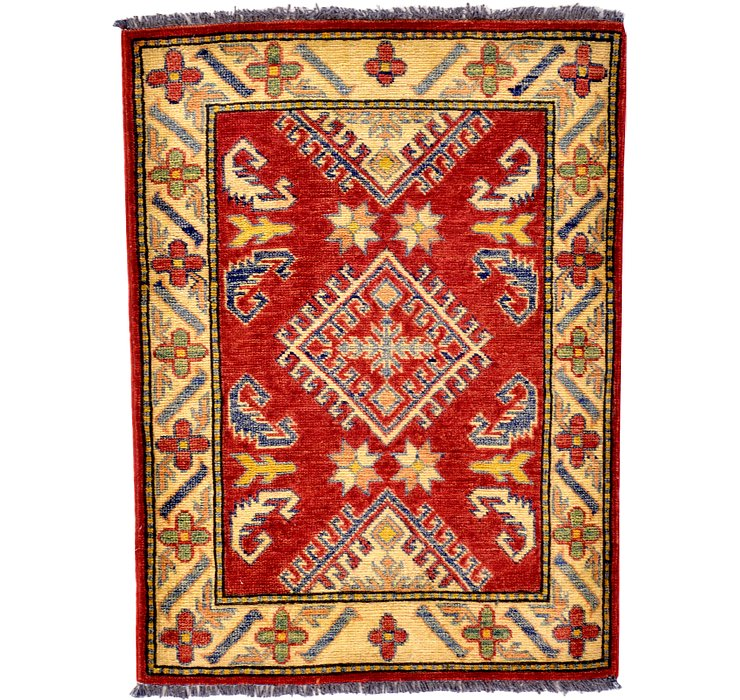 2' 5 x 3' 3 Kazak Oriental Rug