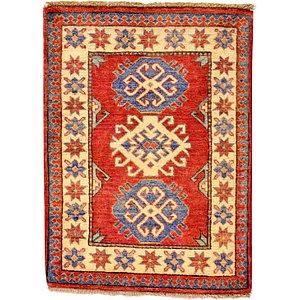 2' 2 x 3' Kazak Oriental Rug