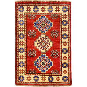 2' 2 x 3' 3 Kazak Oriental Rug