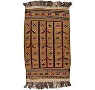 Link to 2' 6 x 4' 4 Kilim Afghan Rug