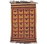Link to 2' 5 x 3' 9 Kilim Afghan Rug