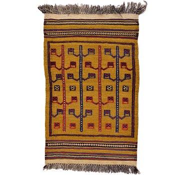 76x119 Kilim Afghan Rug