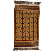Link to 2' 7 x 4' 6 Kilim Afghan Rug