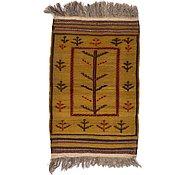 Link to 2' 9 x 4' 3 Kilim Afghan Rug