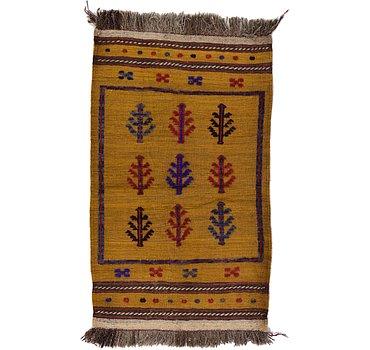 81x137 Kilim Afghan Rug