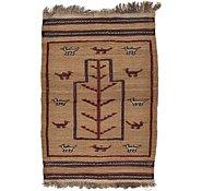 Link to 2' 7 x 3' 10 Kilim Afghan Rug