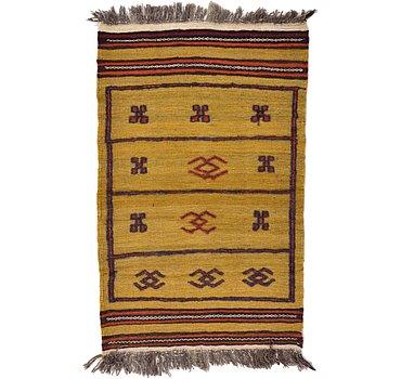 74x119 Kilim Afghan Rug