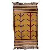 Link to 2' 6 x 4' 1 Kilim Afghan Rug