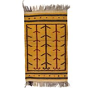 Link to 2' 5 x 4' 1 Kilim Afghan Rug