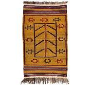 Link to 2' 8 x 4' 5 Kilim Afghan Rug