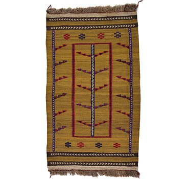 79x130 Kilim Afghan Rug