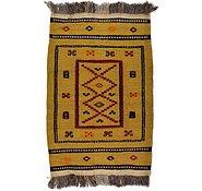 Link to 85cm x 127cm Kilim Afghan Rug