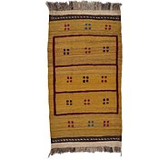 Link to 2' 6 x 4' 8 Kilim Afghan Rug