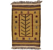 Link to 2' 9 x 4' 2 Kilim Afghan Rug