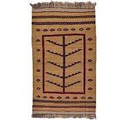 Link to 2' 8 x 4' 6 Kilim Afghan Rug