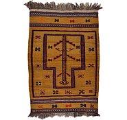 Link to 2' 9 x 3' 11 Kilim Afghan Rug