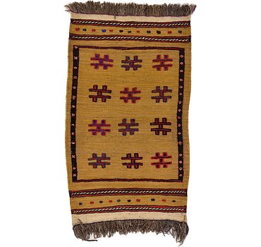 81x135 Kilim Afghan Rug