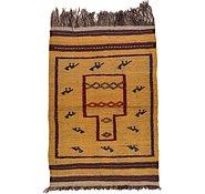 Link to 2' 7 x 3' 8 Kilim Afghan Rug