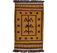 Link to 2' 9 x 4' 5 Kilim Afghan Rug