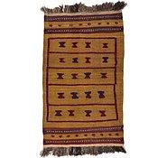 Link to 2' 7 x 4' 3 Kilim Afghan Rug
